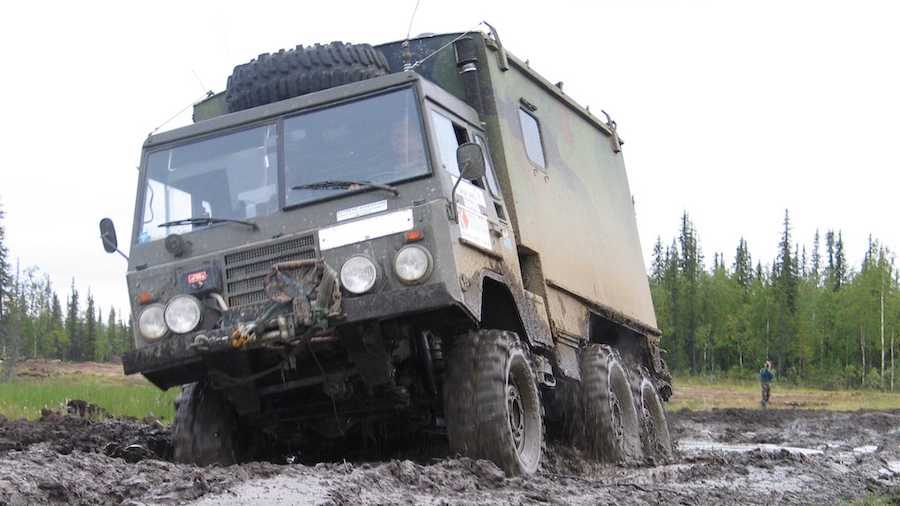 This Volvo 6x6 Will Keep You Safe From The Apocalypse For $14,100