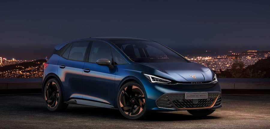 Cupra El-Born Debuts As Brand's First Electric Model