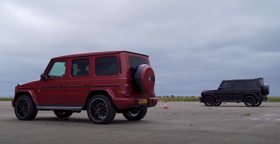 Mercedes-AMG G63 Drag Races Another G63 In A Battle Of Reaction Times