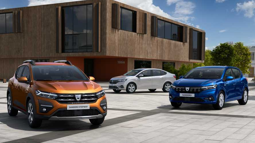 New Dacia Sandero and Sandero Stepway shown for the first time