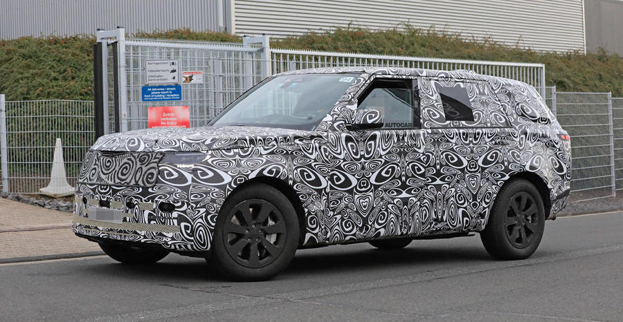 New 2021 Range Rover spotted in long-wheelbase form
