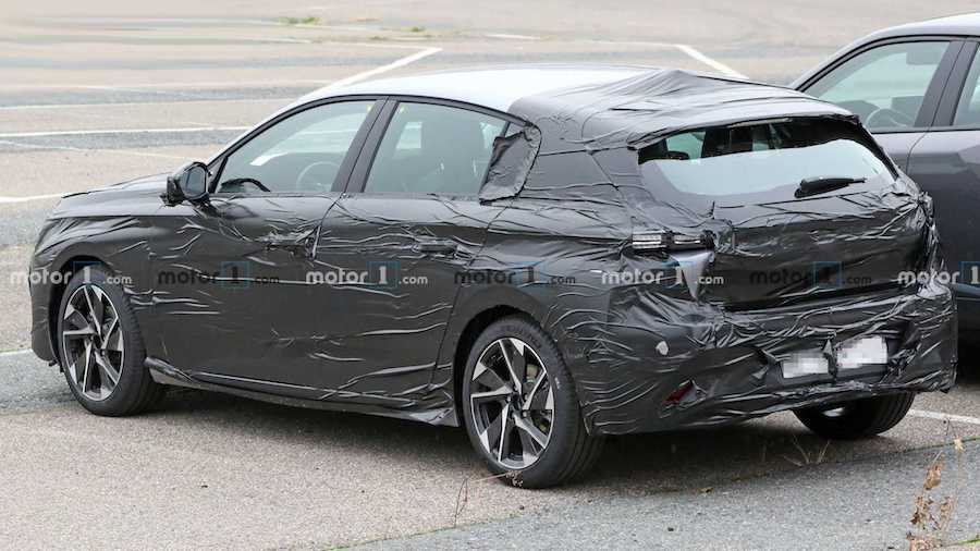 2021 Peugeot 308 Spied Wearing New Revealing Camouflage