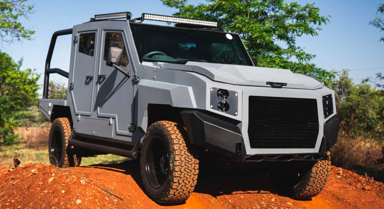 Toyota Land Cruiser 79 Morphs Into Armored Personnel Carrier