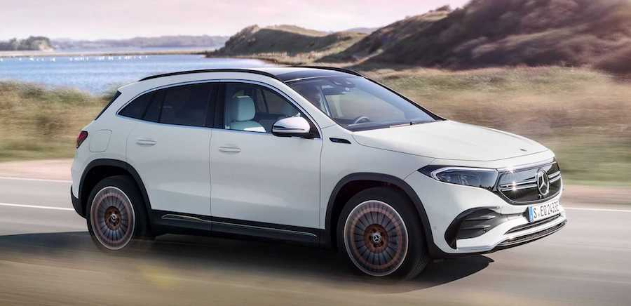 2021 Mercedes EQA Debuts As Electric GLA With 188 HP