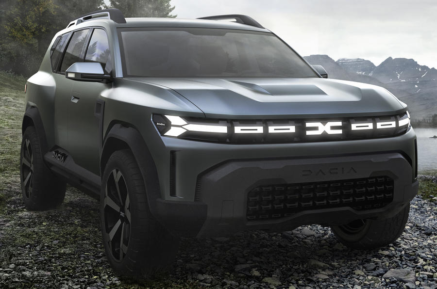 Dacia Bigster concept previews rugged range-topping SUV