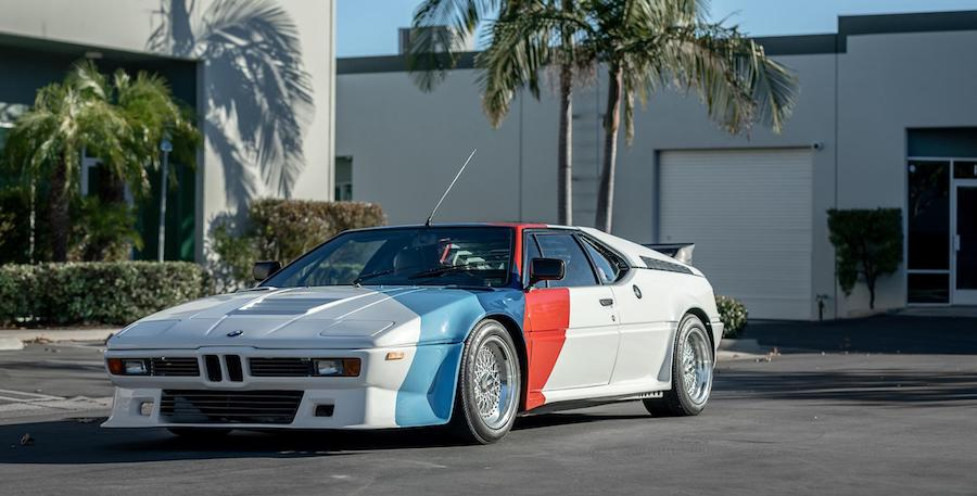 Paul Walker's Tuned BMW M1 Hits The Auction Block, Already At $350,000