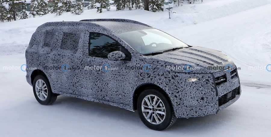 2022 Dacia Logan Stepway Wagon Possibly Spied For The First Time