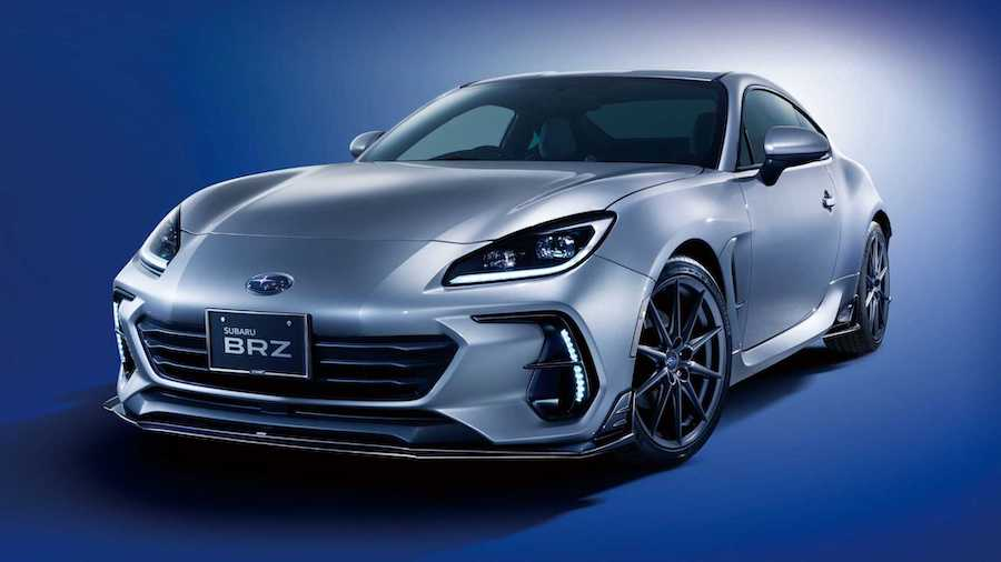 2022 Subaru BRZ Looks Sportier With Factory Add-Ons