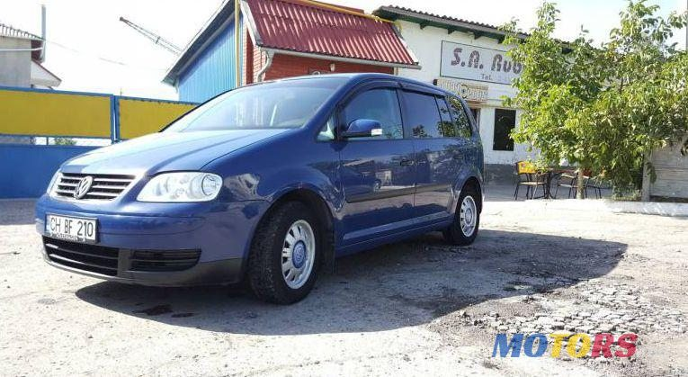 2003 Volkswagen Touran For Sale 5000 Cahul Moldova