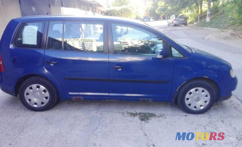 2003 Volkswagen Touran For Sale 5000 Chiinu Moldova