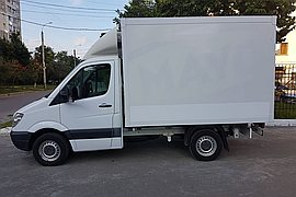 2009' Mercedes-Benz sprinter FRIGIDER