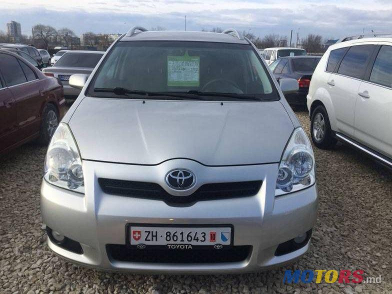 2008 39 toyota corolla verso for sale 7 600 chi in u moldova. Black Bedroom Furniture Sets. Home Design Ideas
